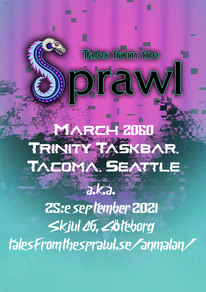 Tales from the Sprawl 25:e september 2021